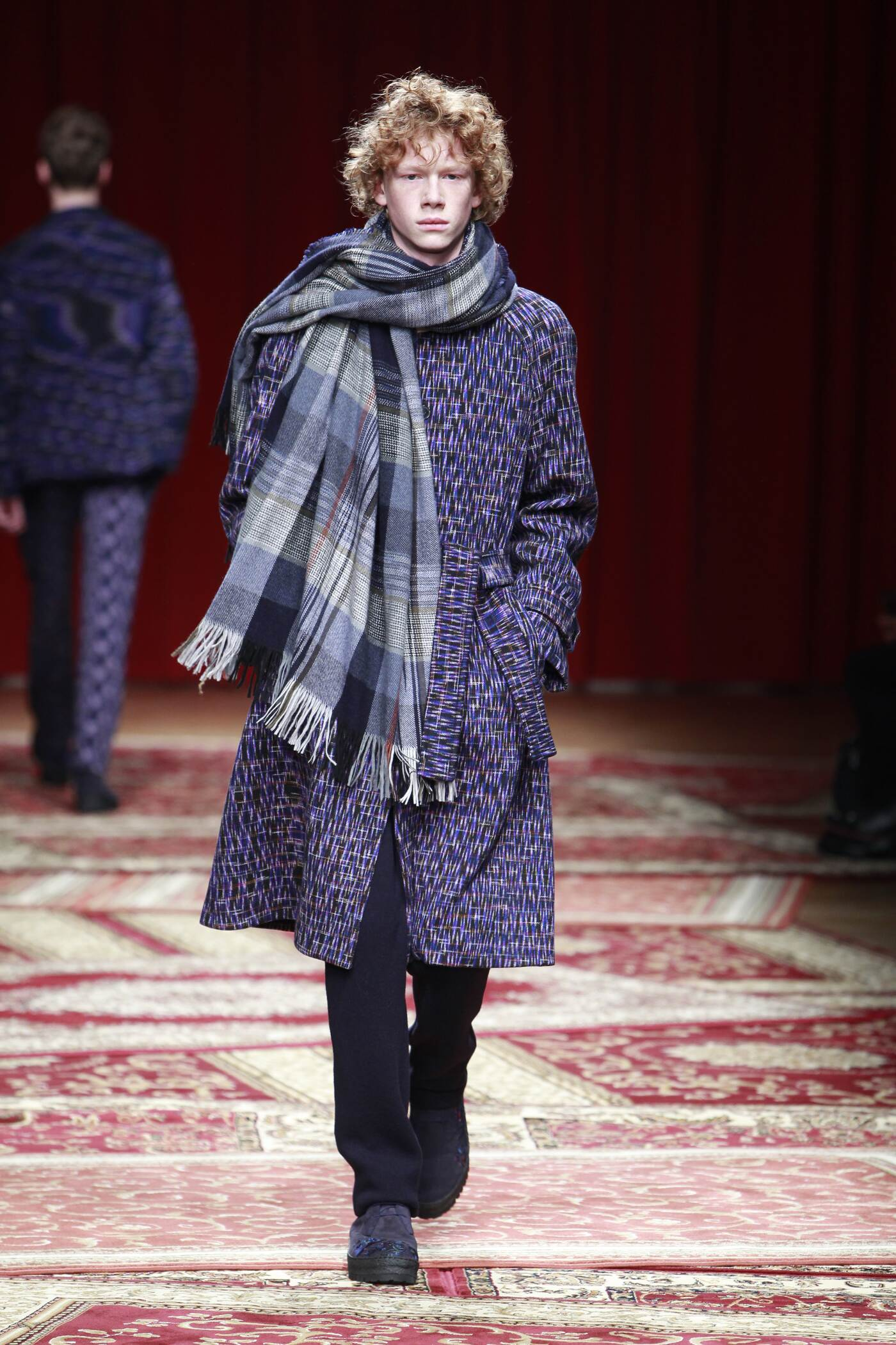 2016 Fall Fashion Man Missoni