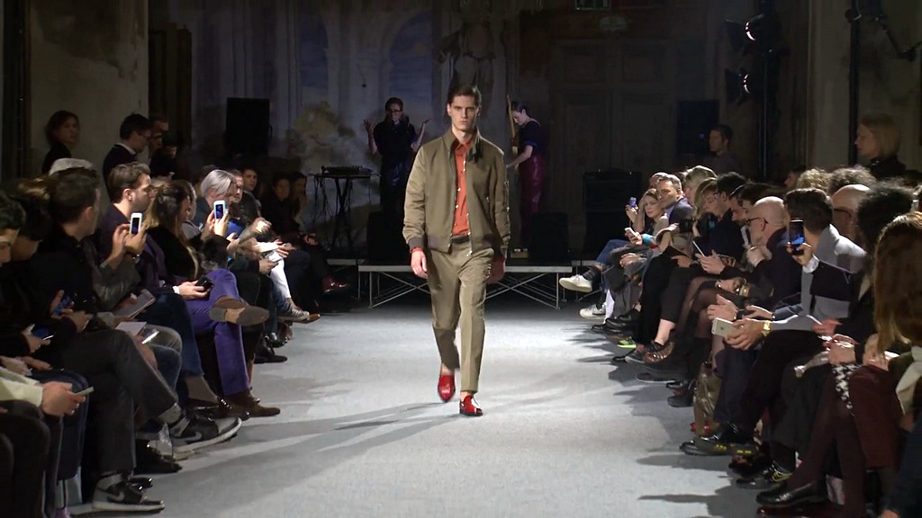 Andrea Incontri Fall Winter 2015-16 Men's Fashion Show - Milan Fashion Week