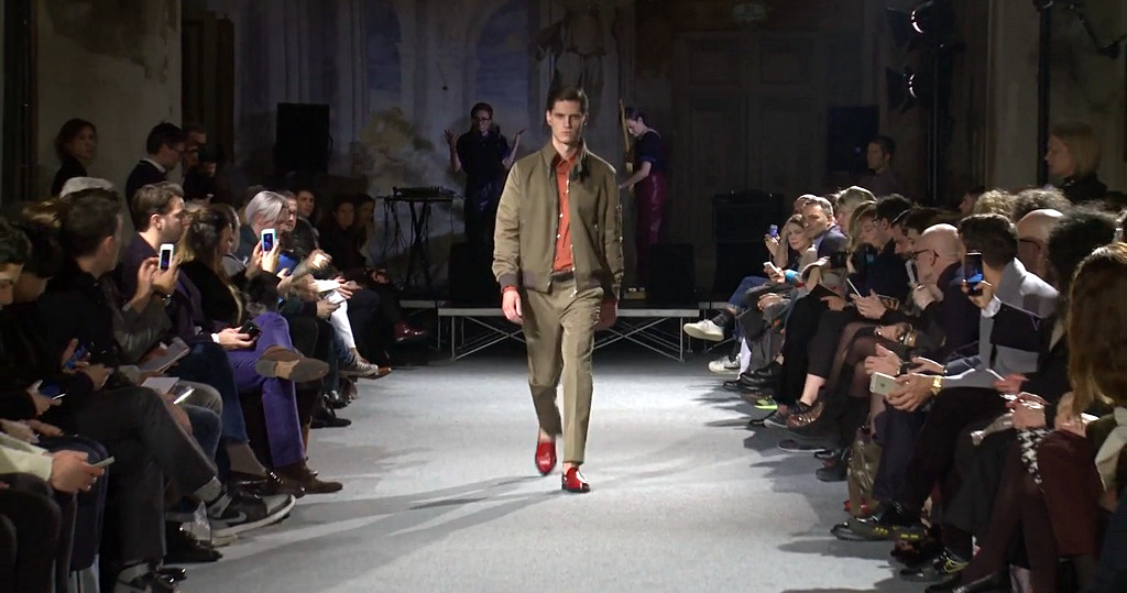 Andrea Incontri Fall Winter 2015-2016 Men's Fashion Show