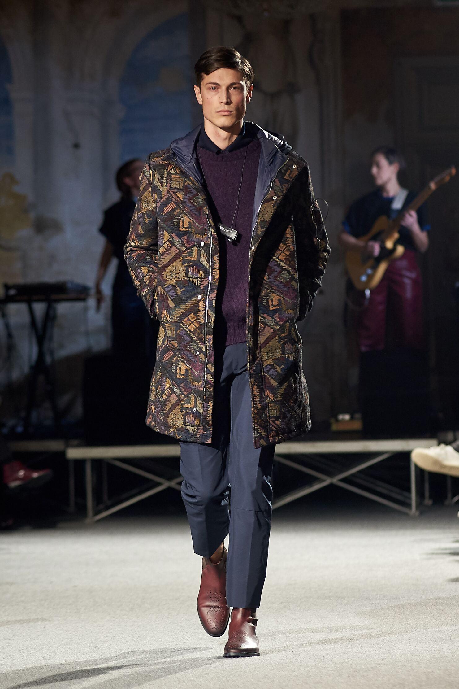 Andrea Incontri Pitti Immagine Uomo Menswear