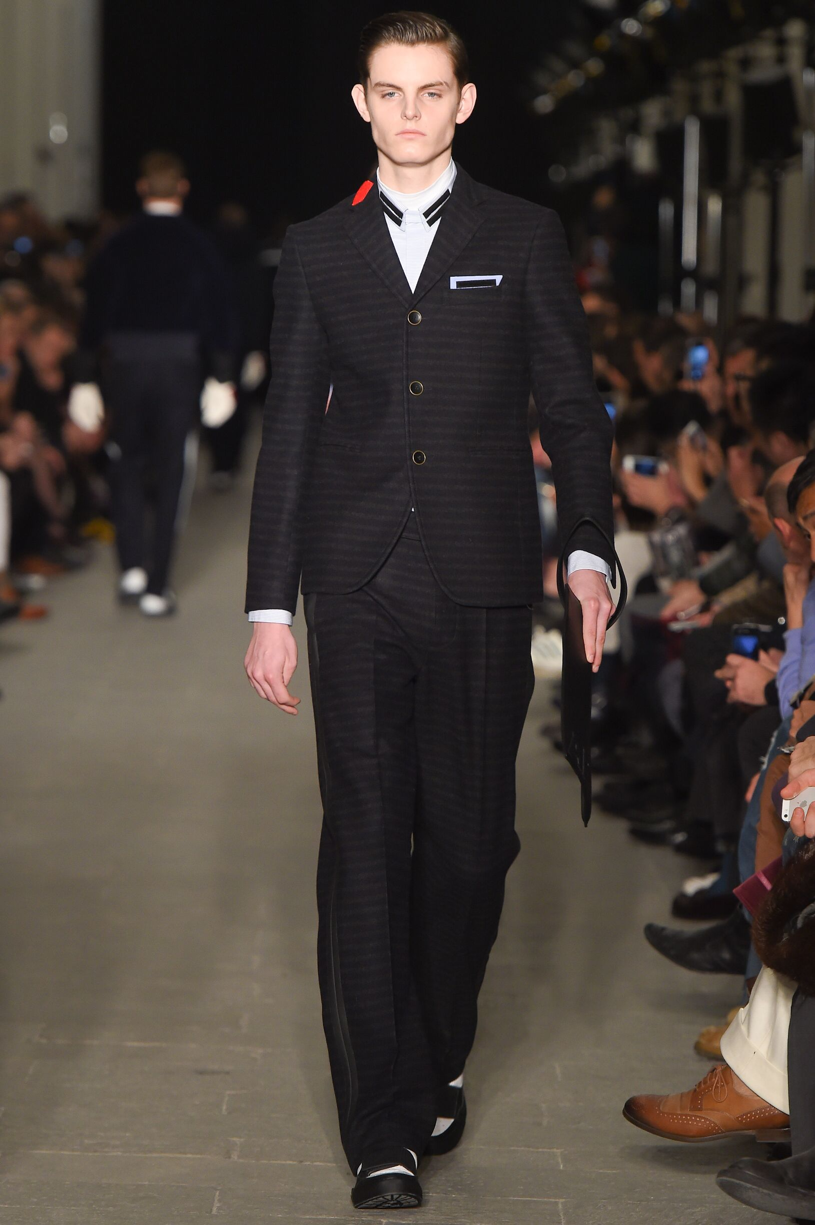 Andrea Pompilio Fall Winter 2015 16 Men's Collection Milan Fashion Week Fashion Show