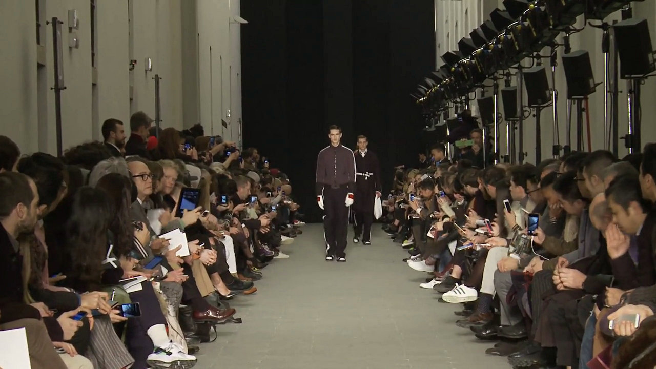 Andrea Pompilio Fall Winter 2015-16 Men's Fashion Show - Milan Fashion Week