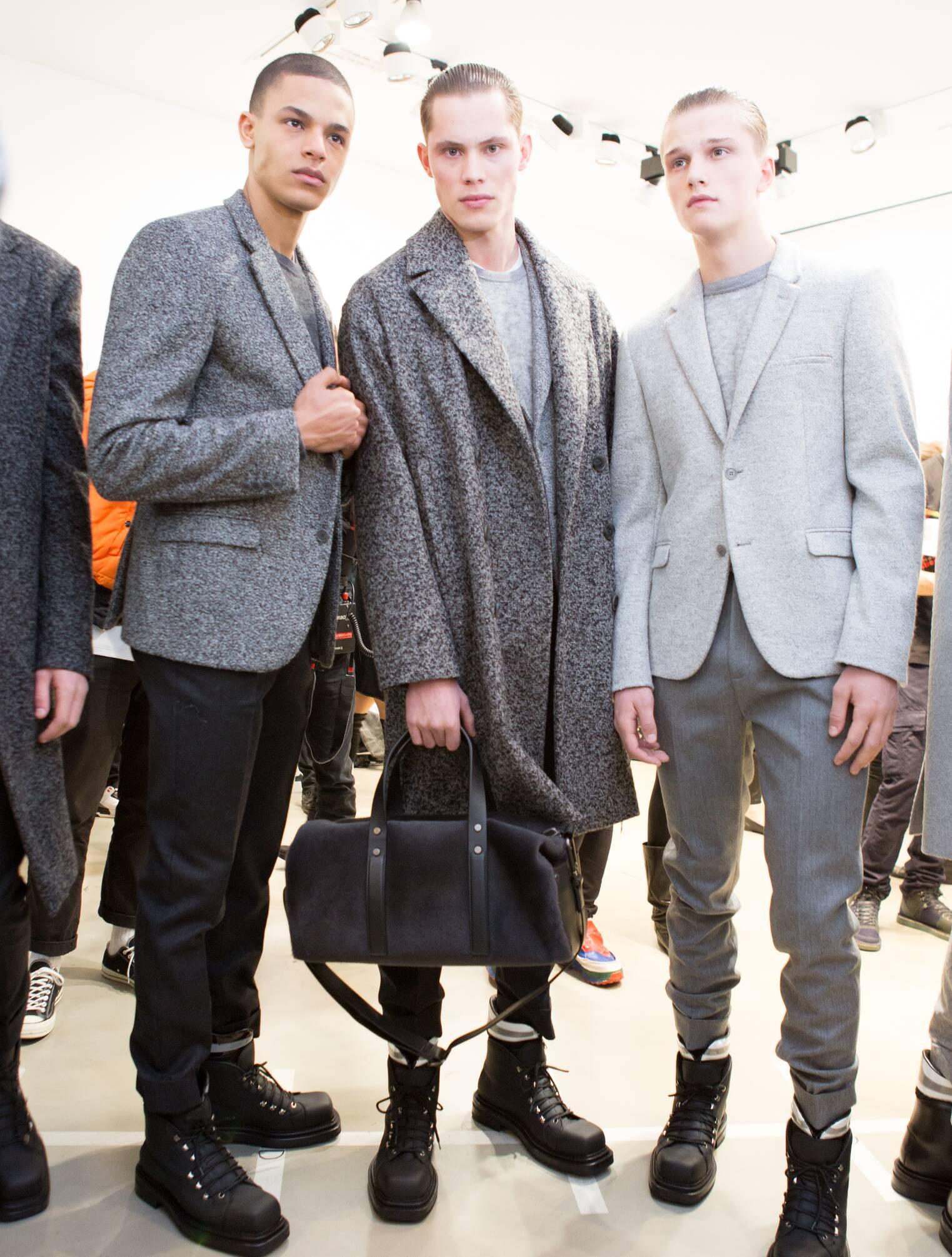 Backstage Calvin Klein Collection FW 2015 Milan