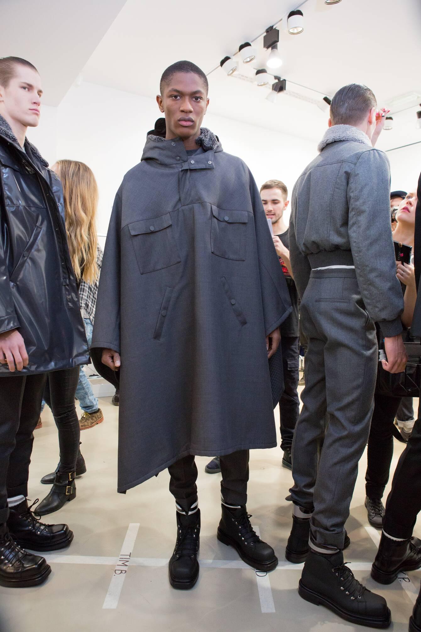 Backstage Calvin Klein Collection FW 2015