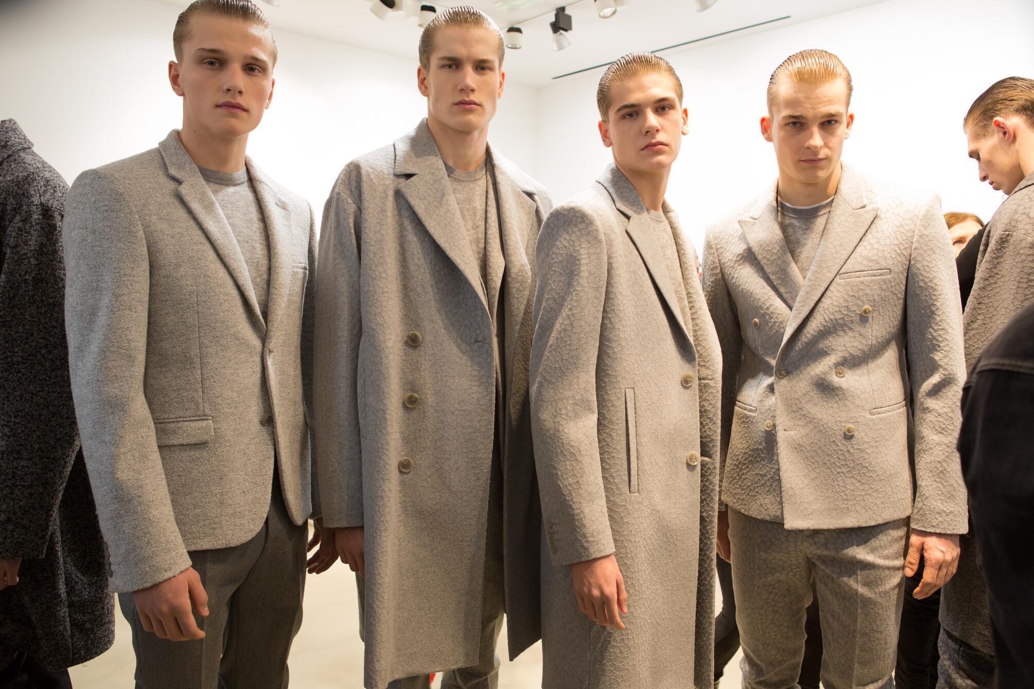 Backstage Calvin Klein