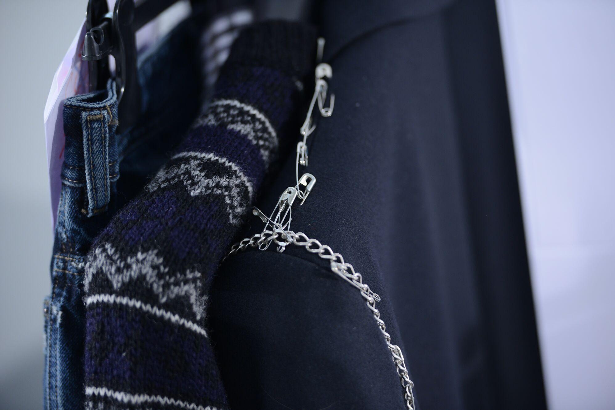 Backstage Diesel Black Gold Menswear Detail