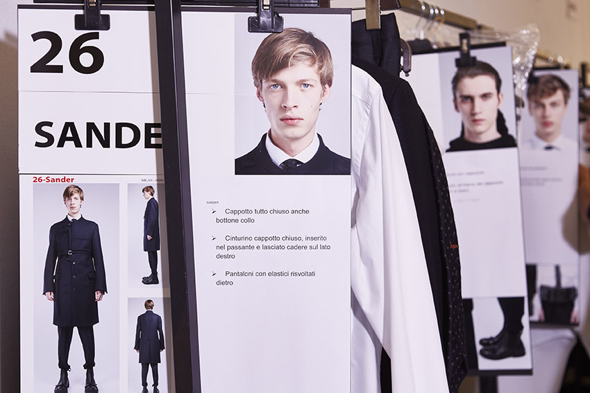 Backstage Ermenegildo Zegna Couture FW 2015 Milan