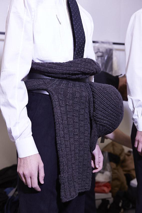 Backstage Ermenegildo Zegna Couture Fashion Show