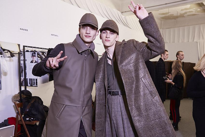 Backstage Ermenegildo Zegna Couture Men 2015 2016