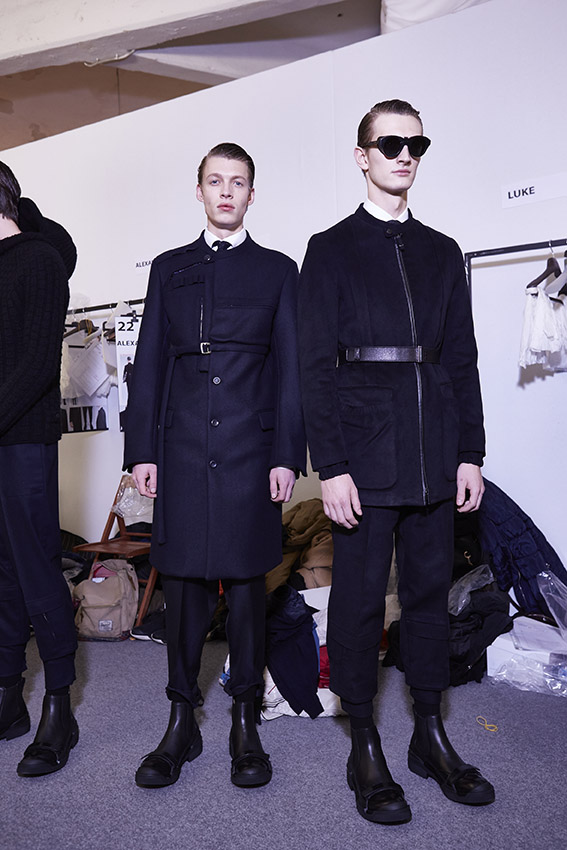 Backstage Ermenegildo Zegna Couture Men Models