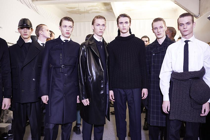 Backstage Ermenegildo Zegna Couture Menswear