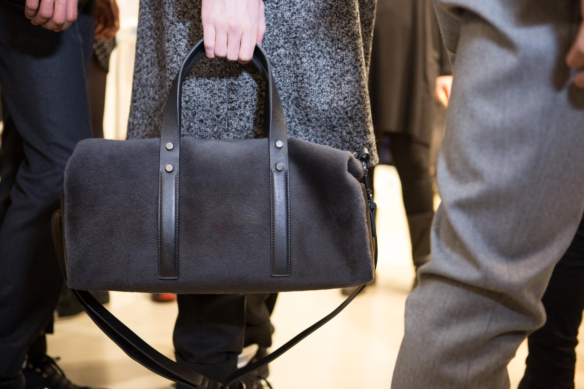 Backstage FW 2015 Bag Detail Calvin Klein Collection