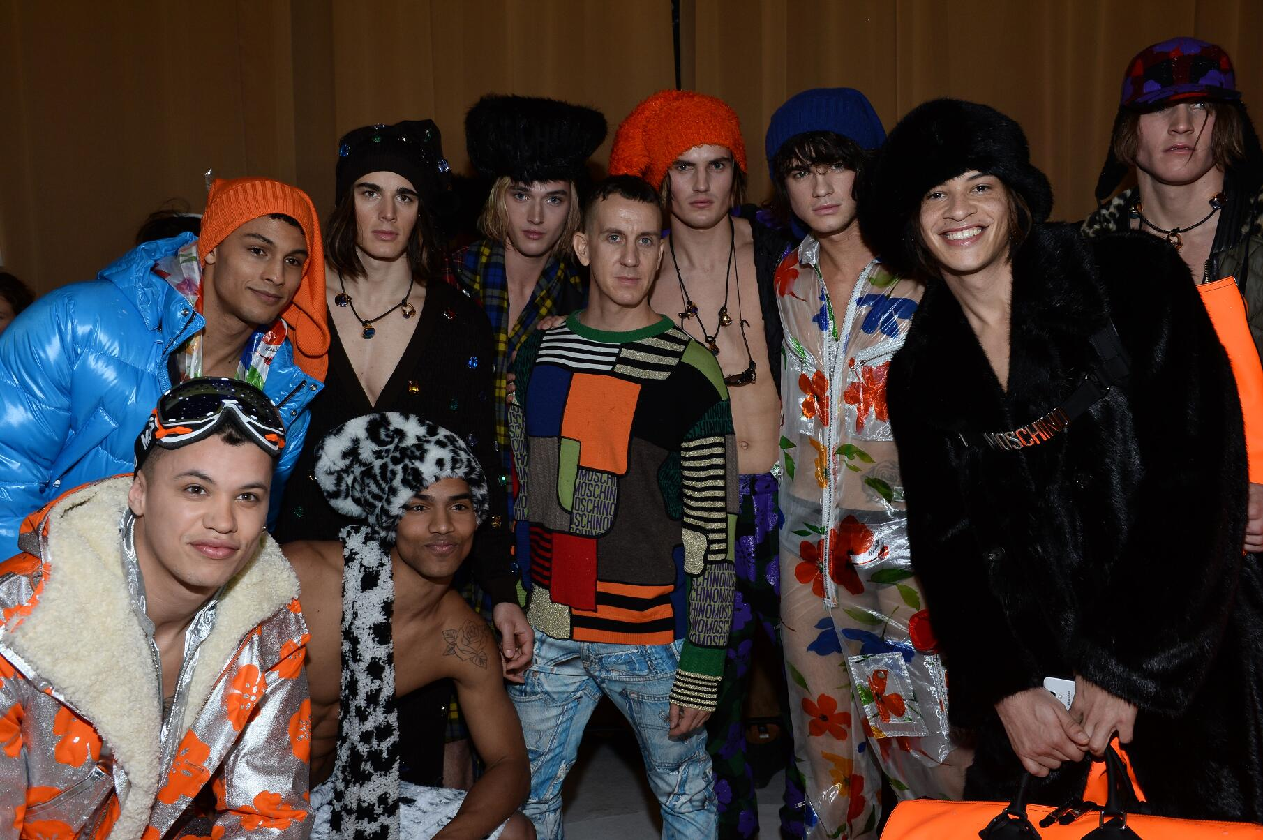 Backstage Moschino Jeremy Scott