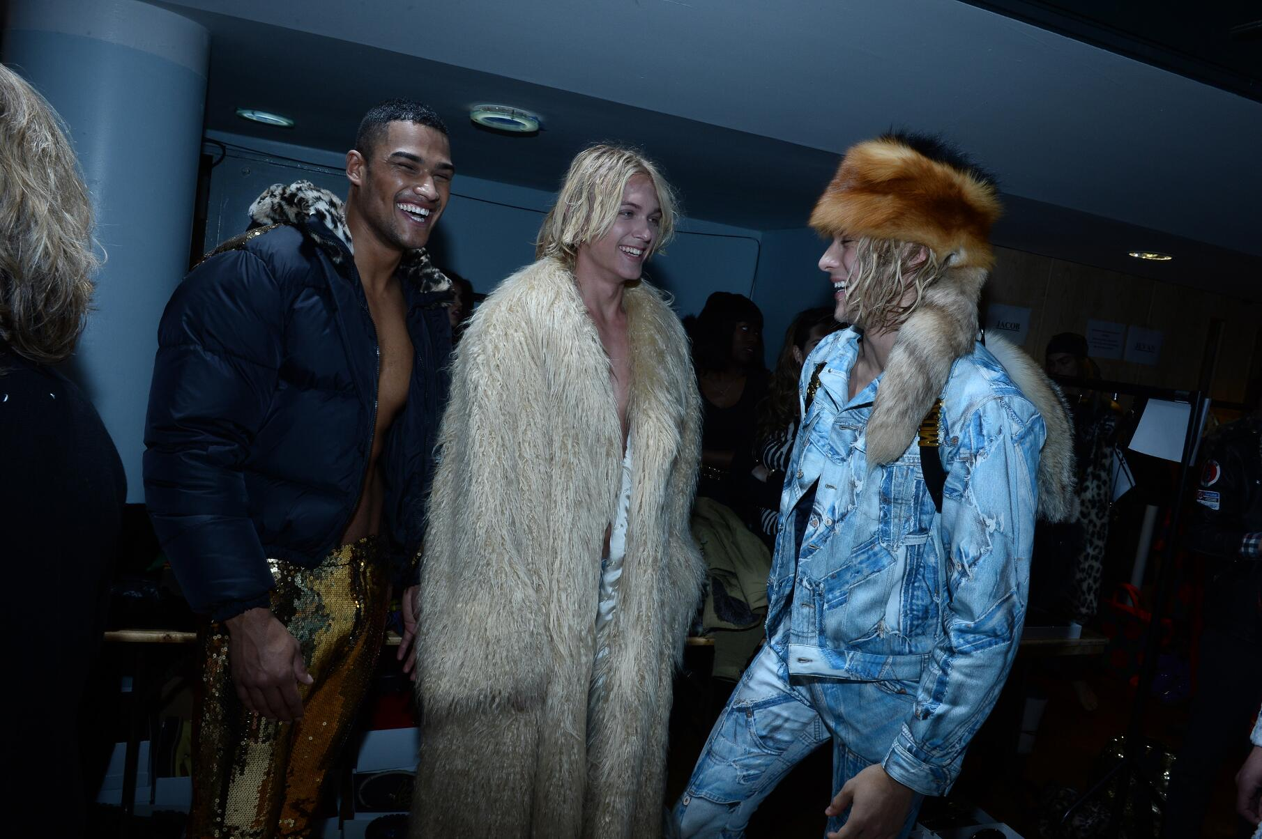 Backstage Moschino Mens Trends