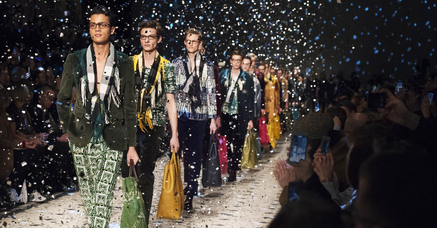 Burberry Prorsum 2015 London Catwalk Finale