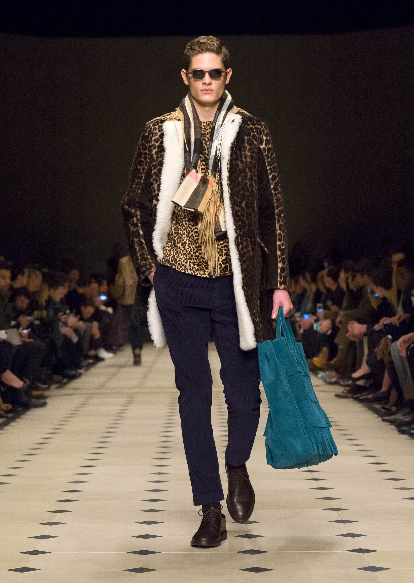 Burberry Prorsum London Fashion Week Menswear
