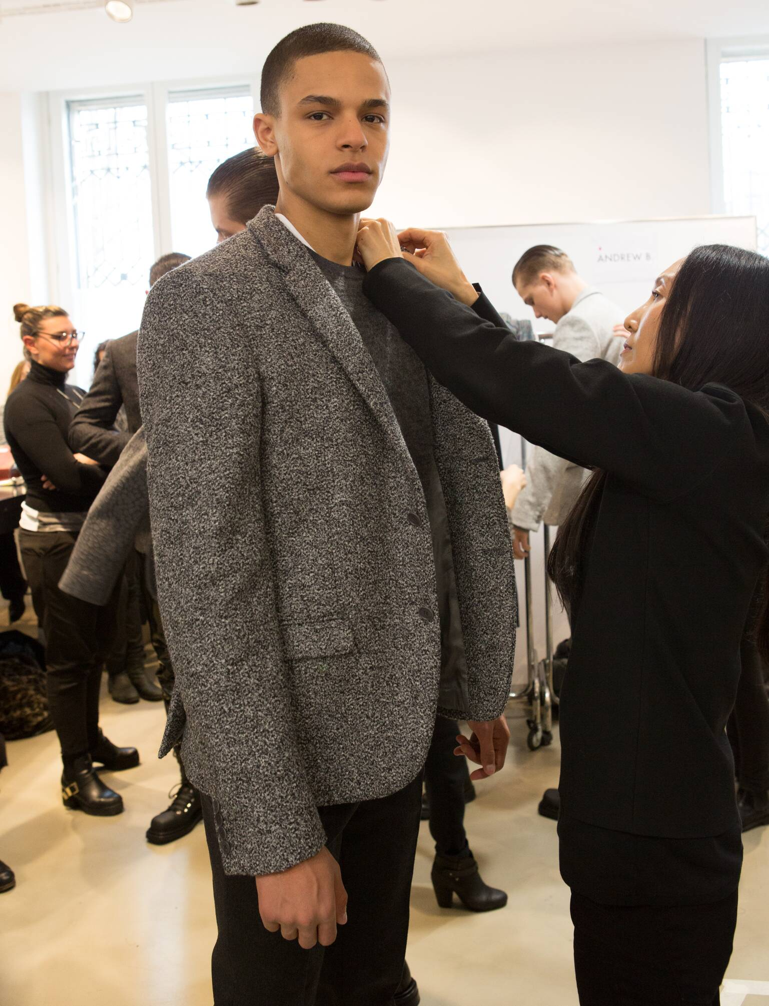 Calvin Klein Collection Backstage 2015