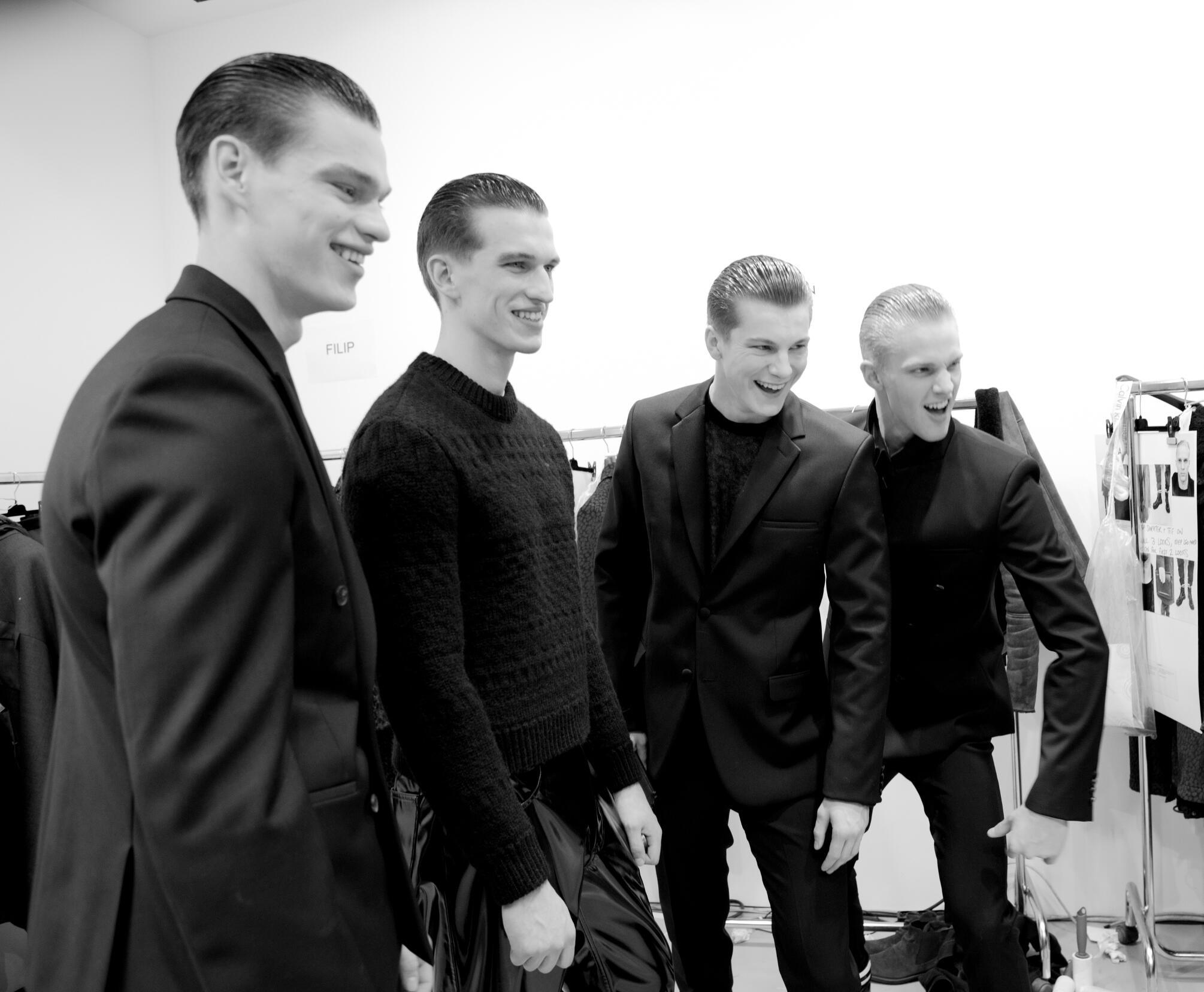 Calvin Klein Collection Backstage Milan