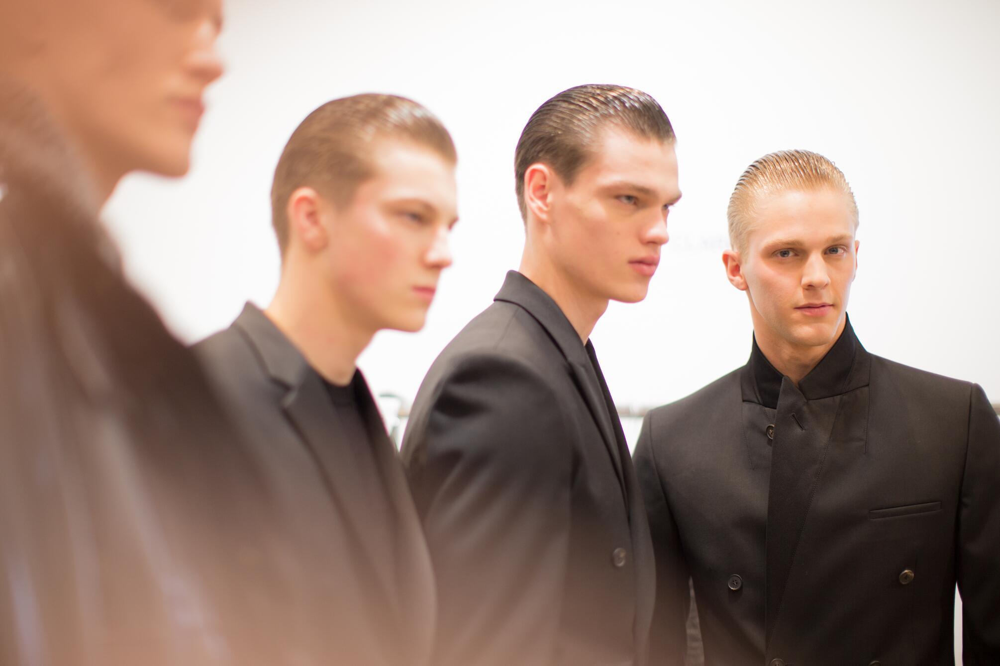 Calvin Klein Collection FW 2015 Menswear Backstage Milan