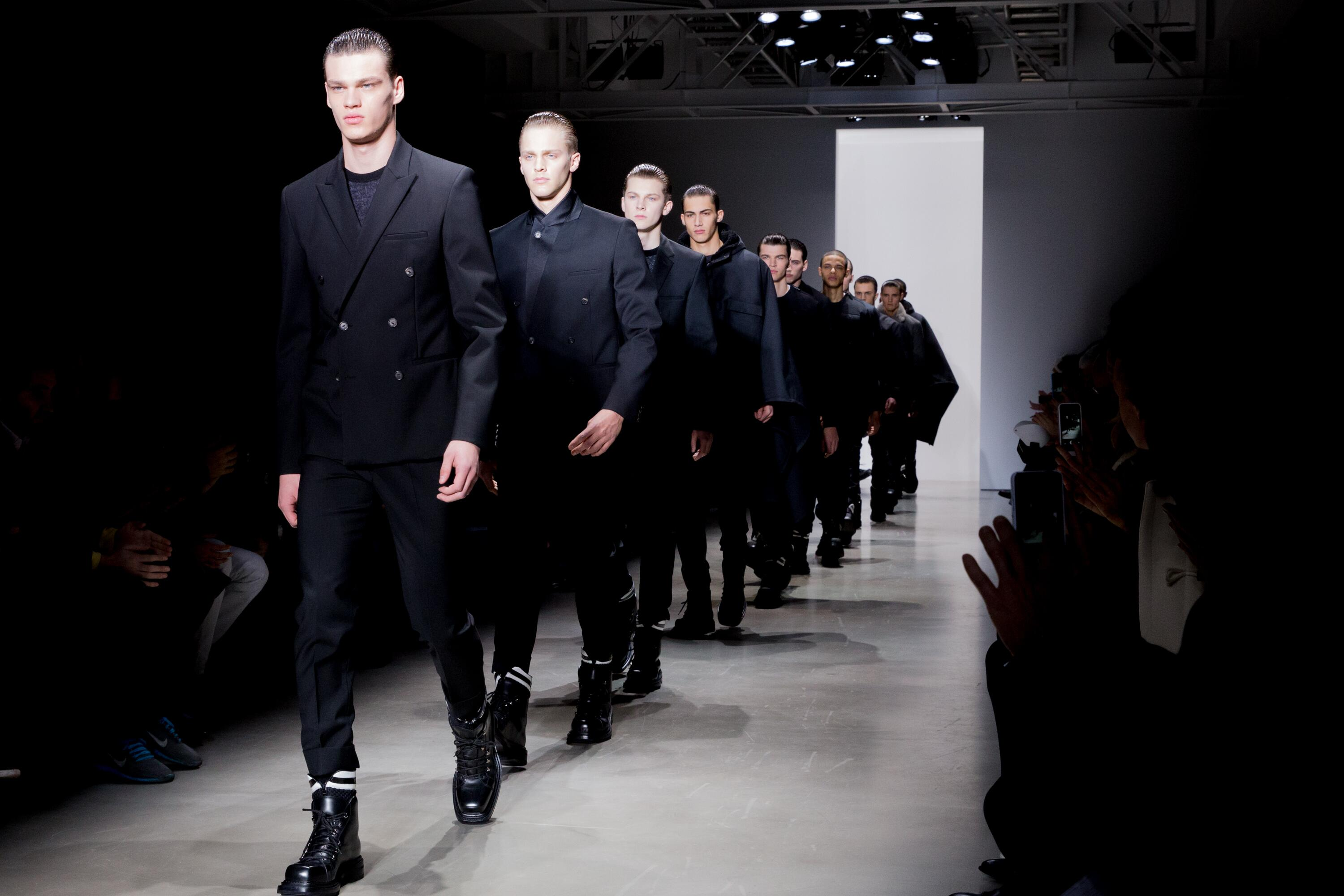 Calvin Klein Collection Men's FW 2015 16 Fashion Show Finale