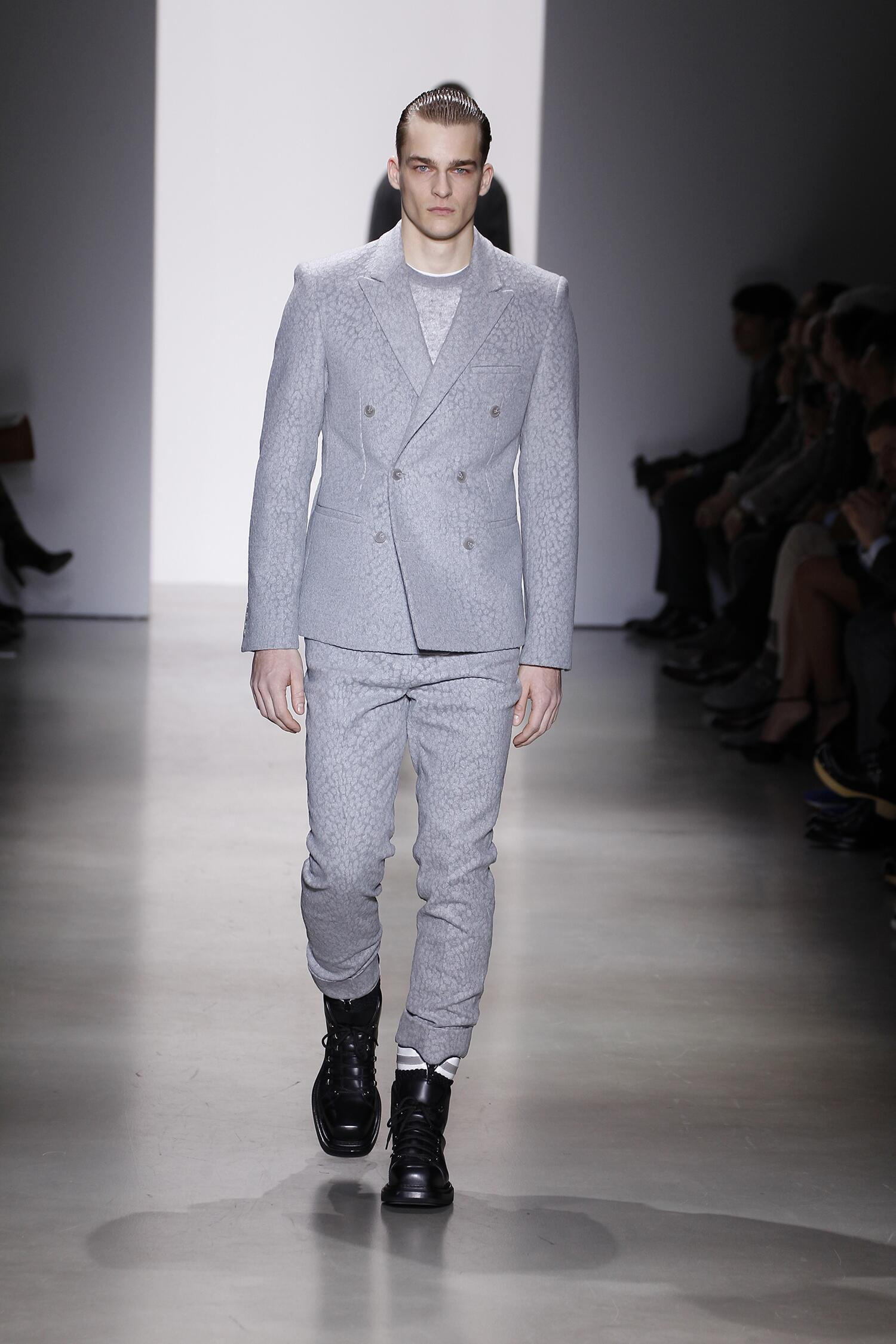 Calvin Klein Fall Winter 2015 16 Men's Collection Milan Fashion Week Fashion Show