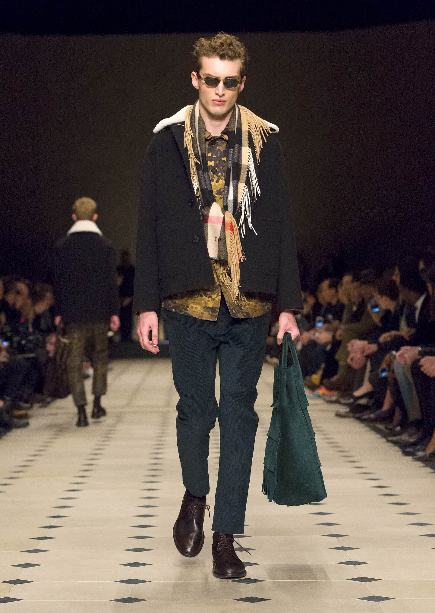 Catwalk Burberry Prorsum Man Fashion Show Winter 2015