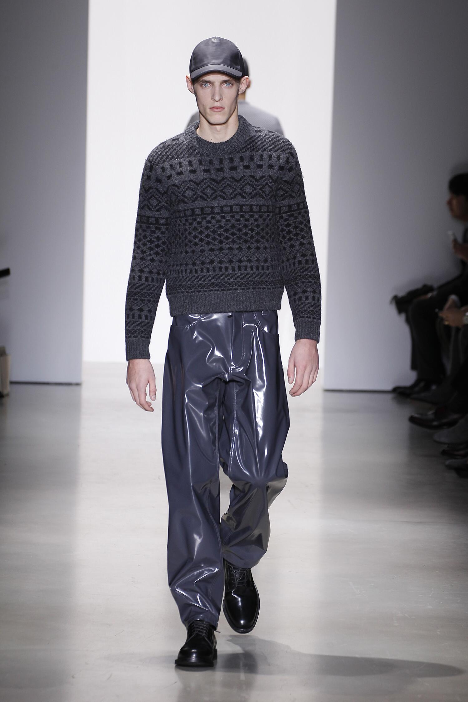 Catwalk Calvin Klein Collection Fashion Show Winter 2015