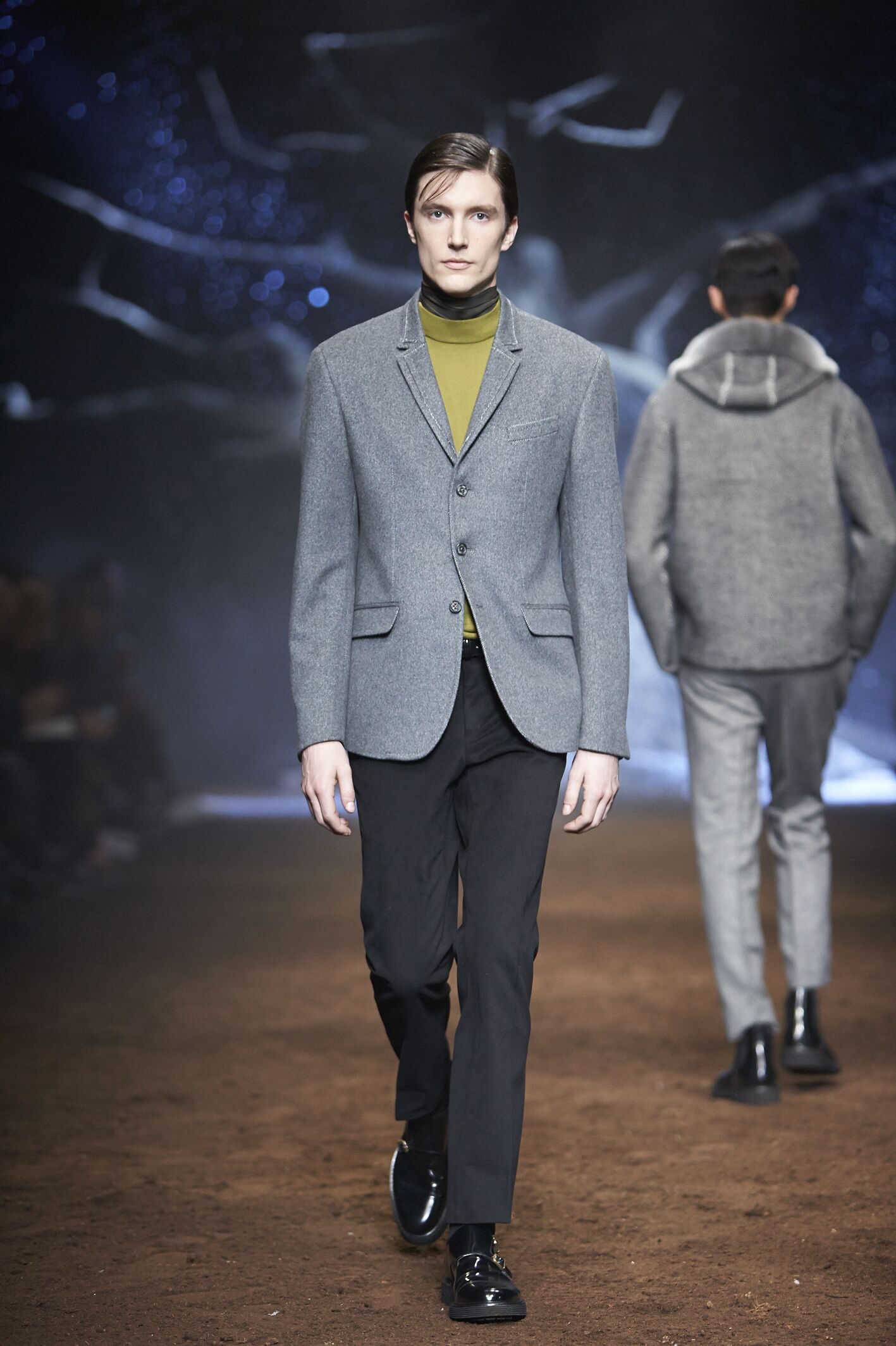 Catwalk Corneliani Winter 2015