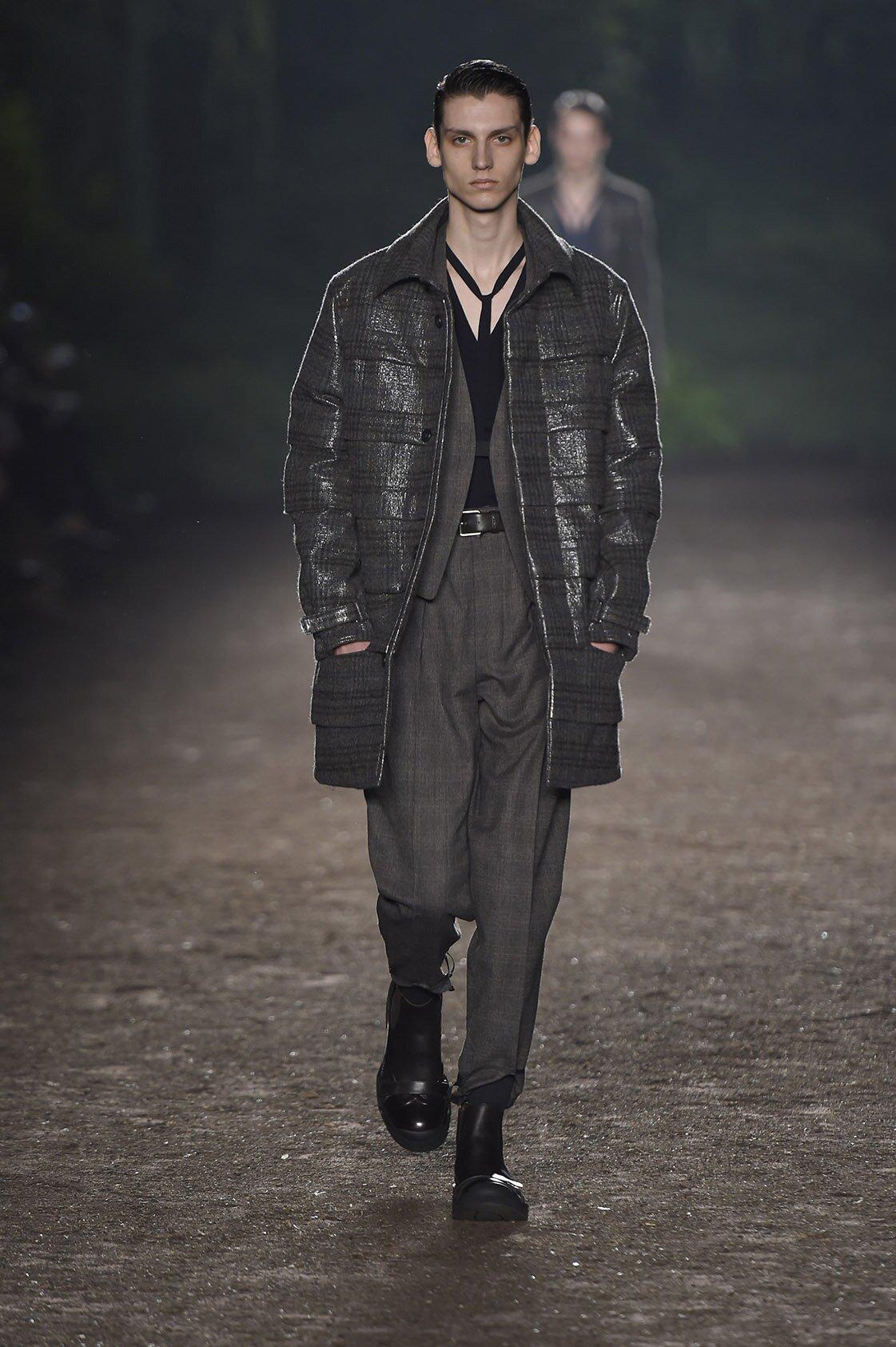 Catwalk Ermenegildo Zegna Couture Fashion Show Winter 2015