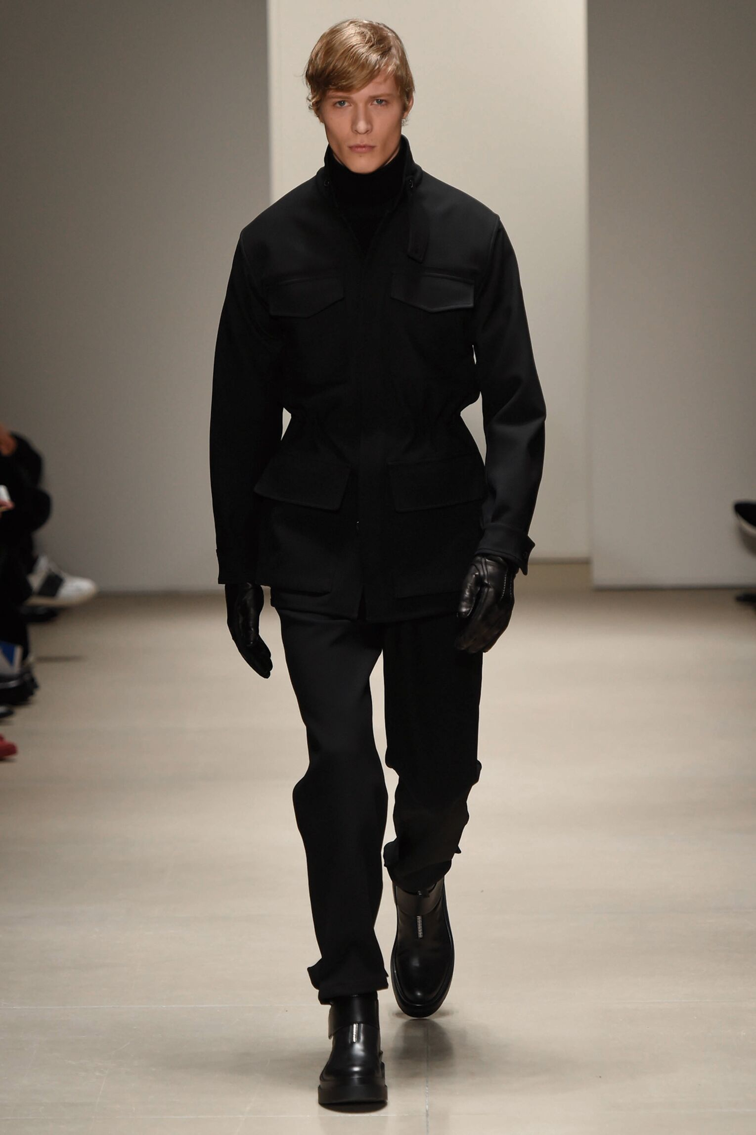 Catwalk Jil Sander Fall Winter 2015 16 Men's Collection Milano Fashion Week