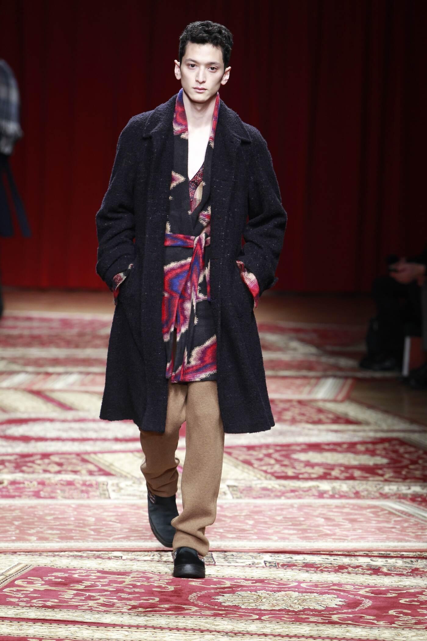 Catwalk Missoni Fashion Show Winter 2015
