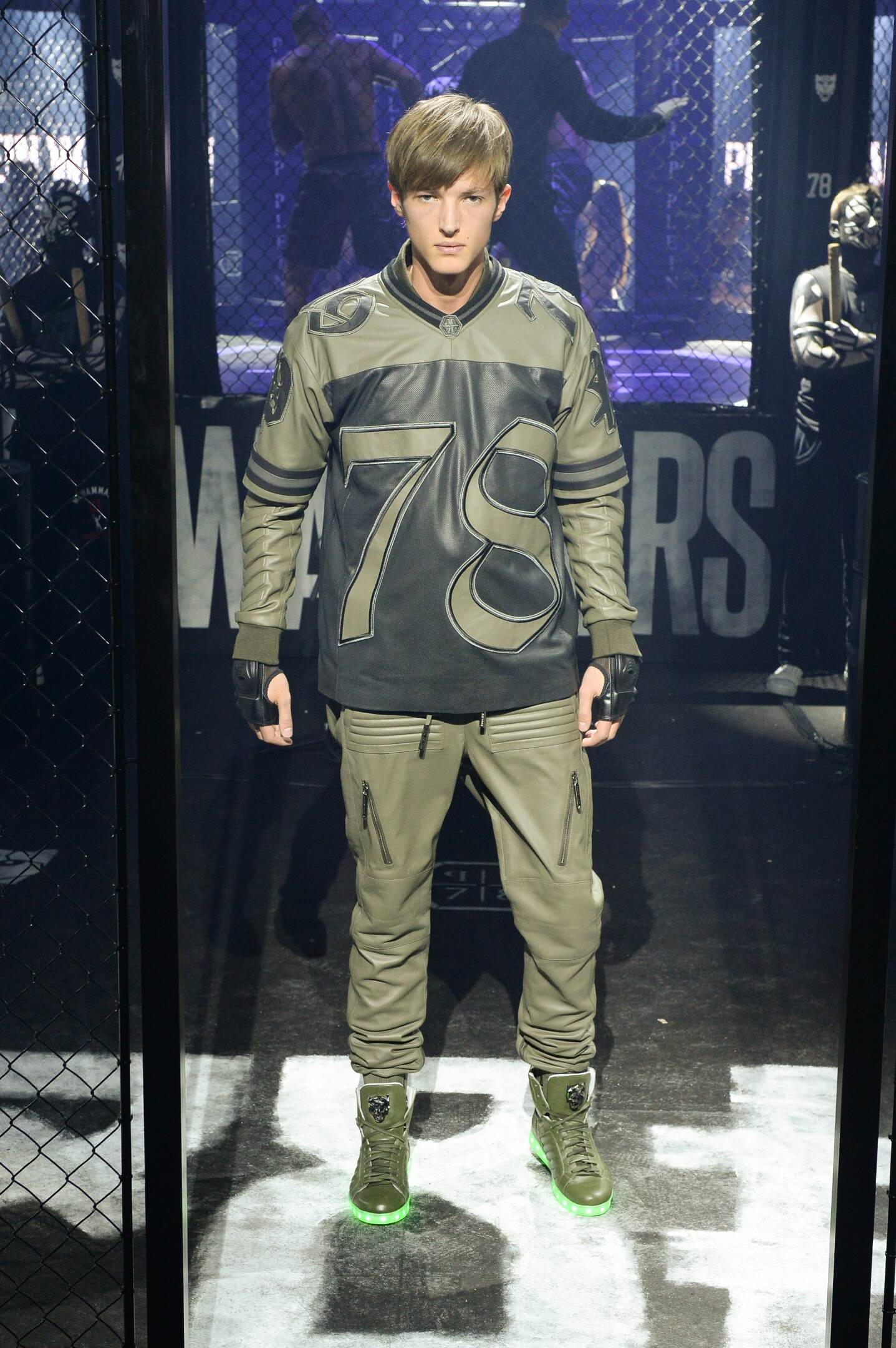 Catwalk Philipp Plein Fall Winter 2015 16 Men's Collection Milano Fashion Week
