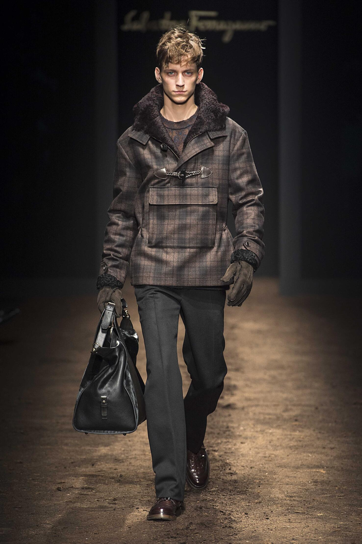 Catwalk Salvatore Ferragamo Winter 2015