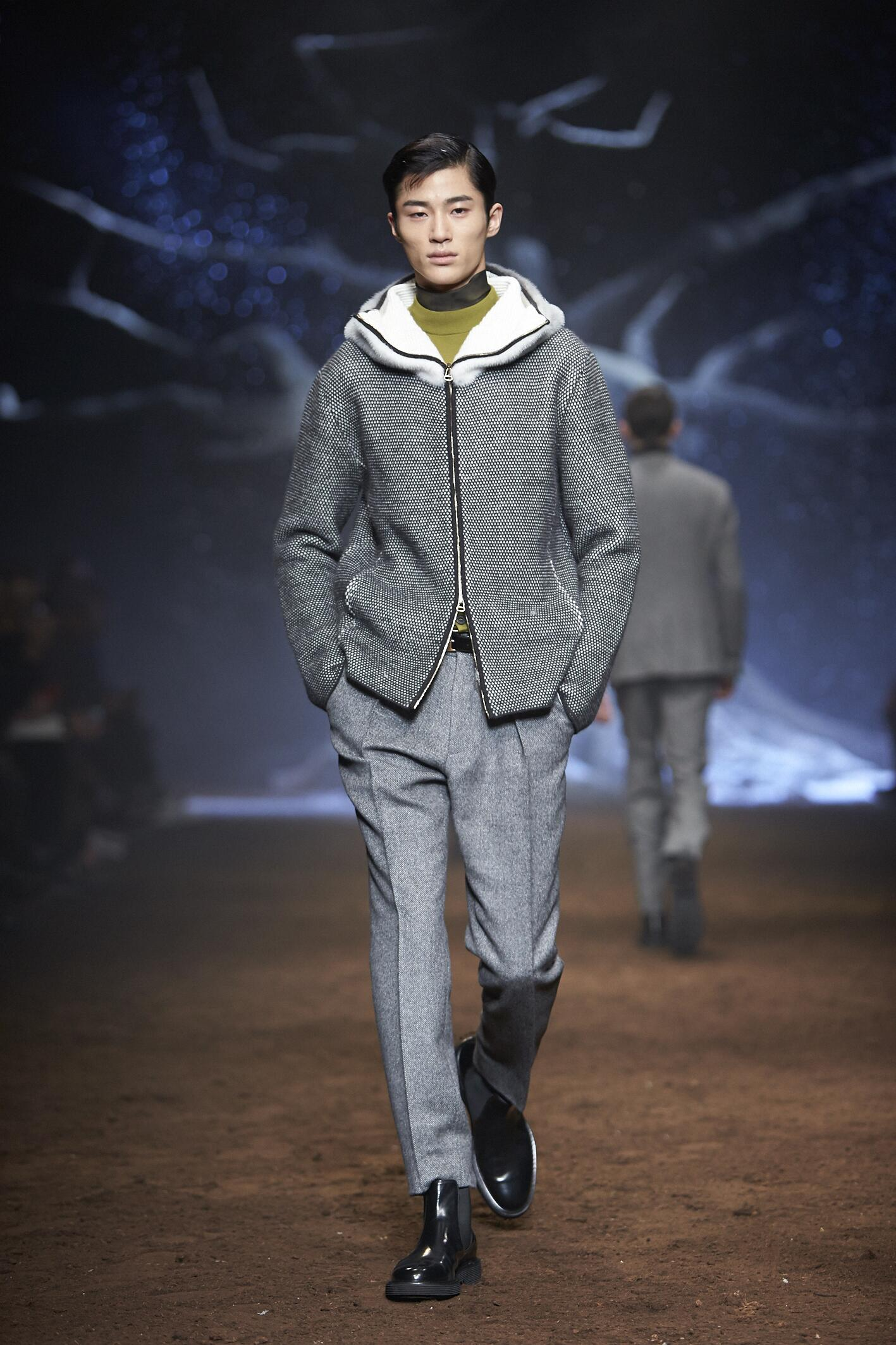 Corneliani Fall 2015 Catwalk