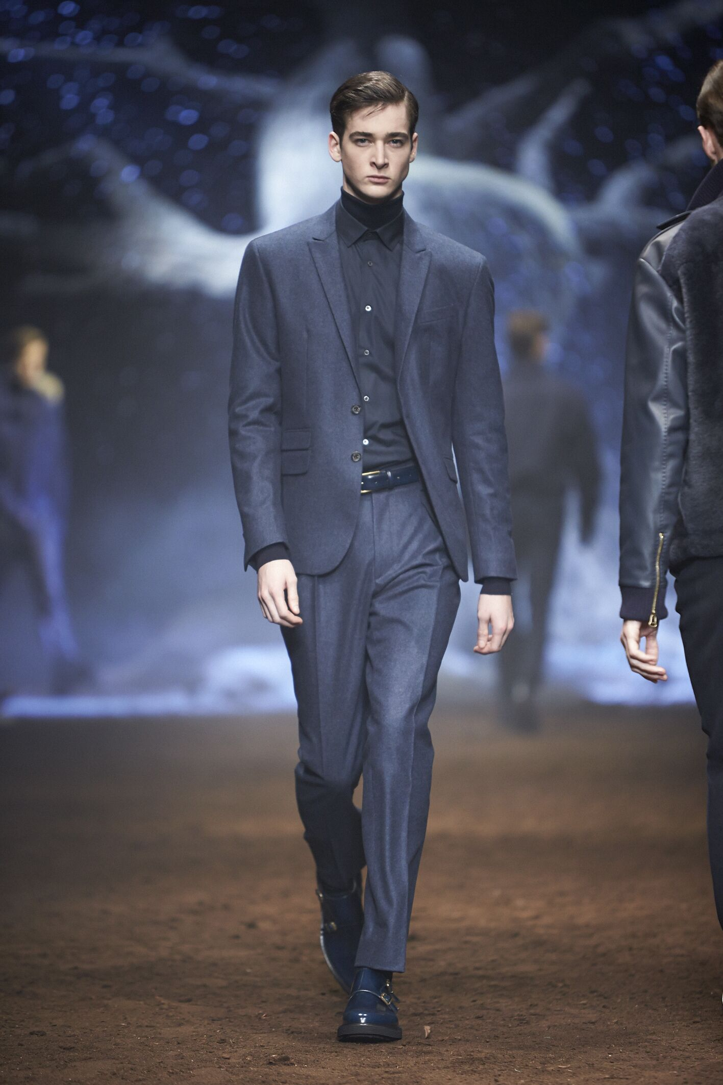 Corneliani Fall Winter 2015 16 Men's Collection Milan Fashion Week Fashion Show