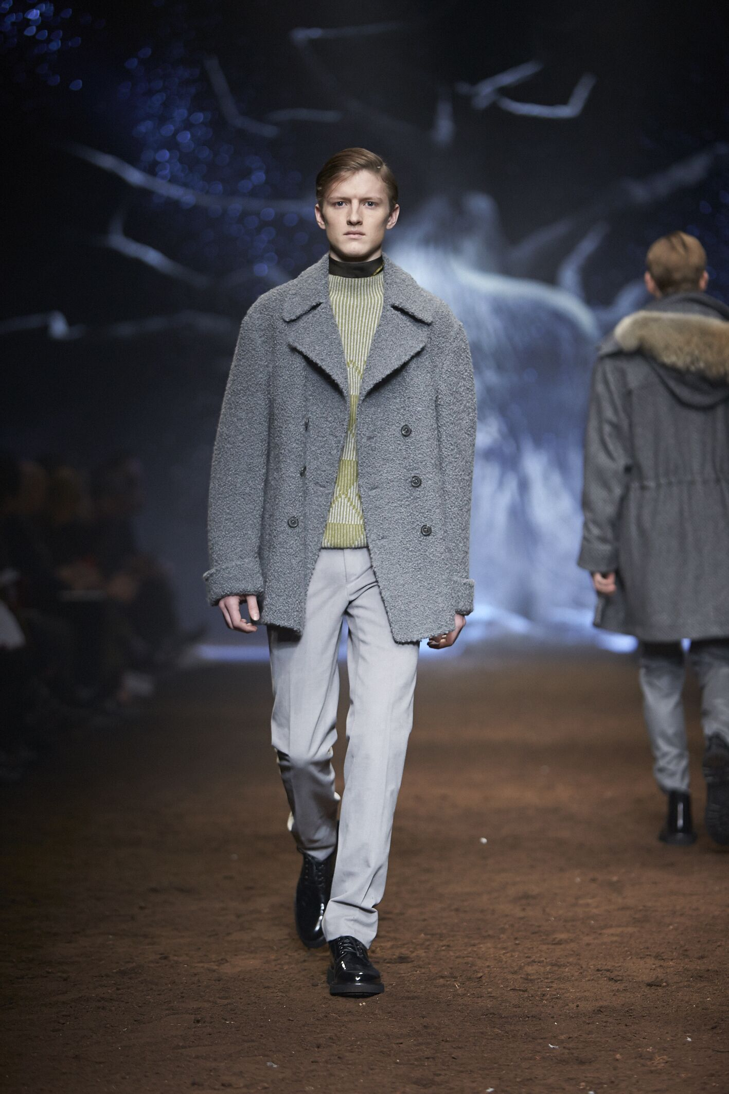 Corneliani Winter 2015 Catwalk