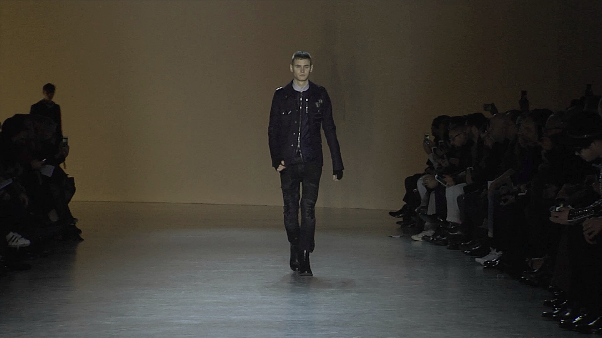 Diesel Black Gold Fall Winter 2015-16 Men's Fashion Show - Milan Fashion Week