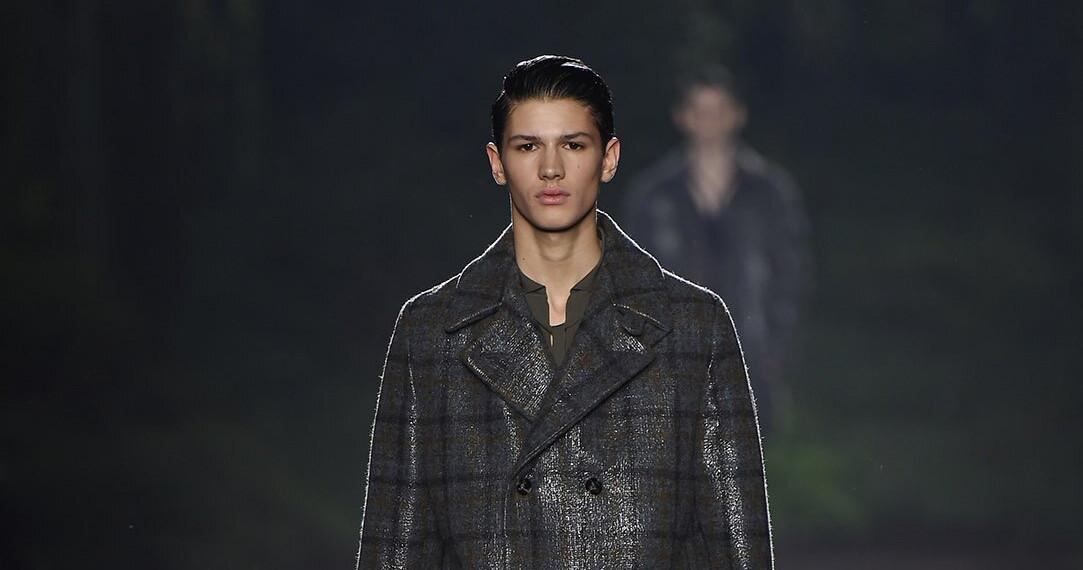 Ermenegildo Zegna Couture Man Milano Fashion Week 2015