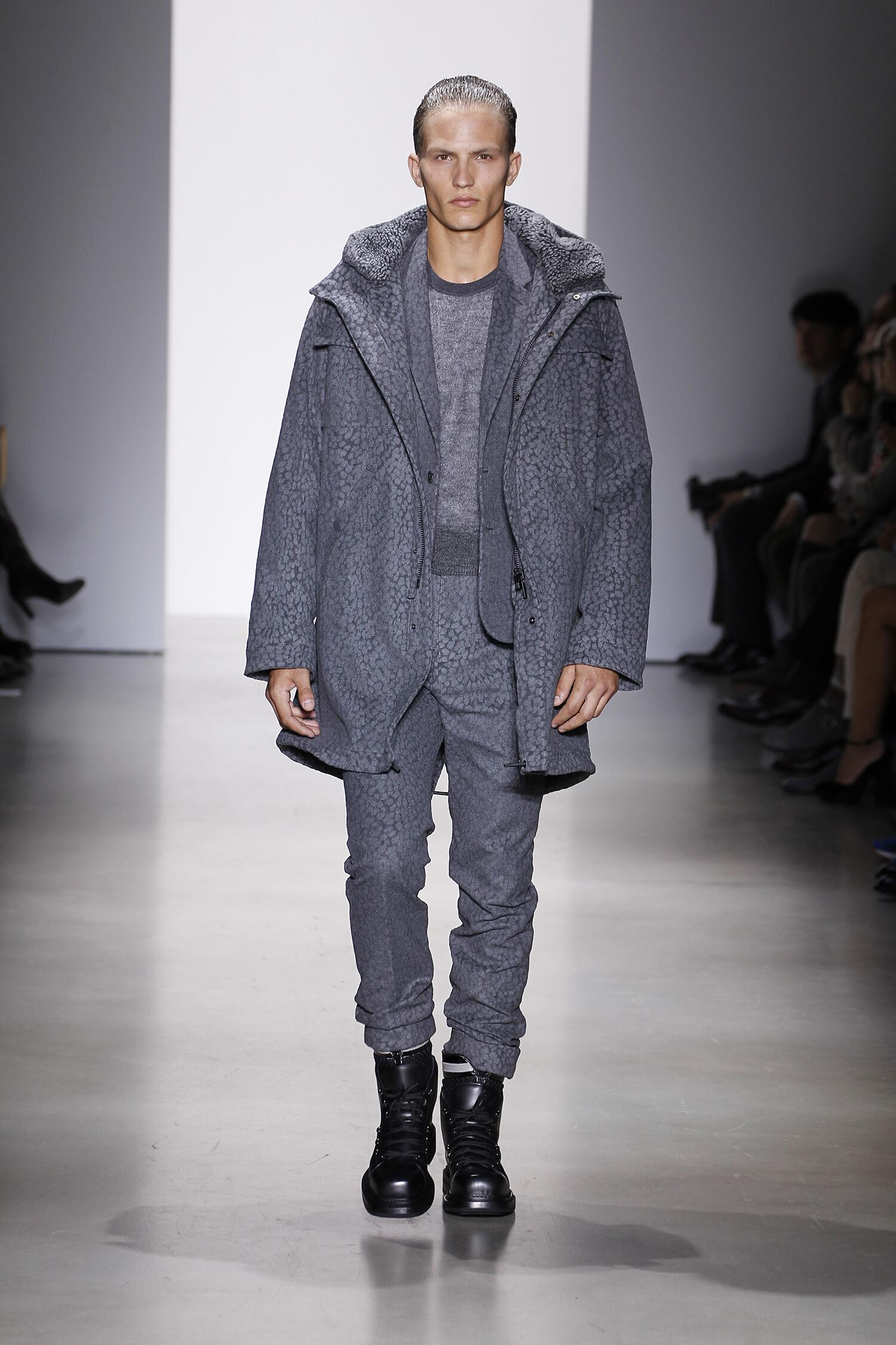 Calvin Klein Fashion Show 2015 Men Fall Men Fashion Show