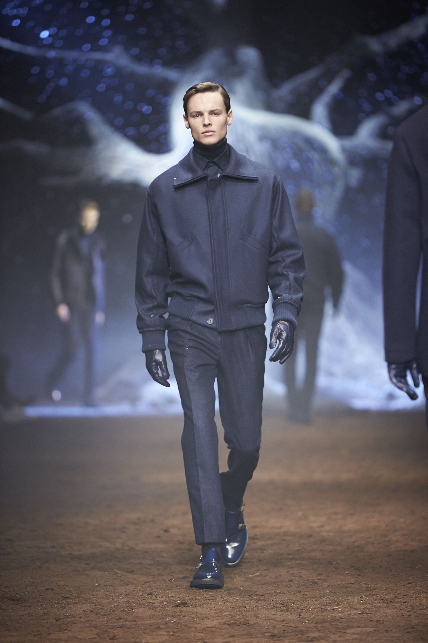 Fall 2015 Men Fashion Show Corneliani