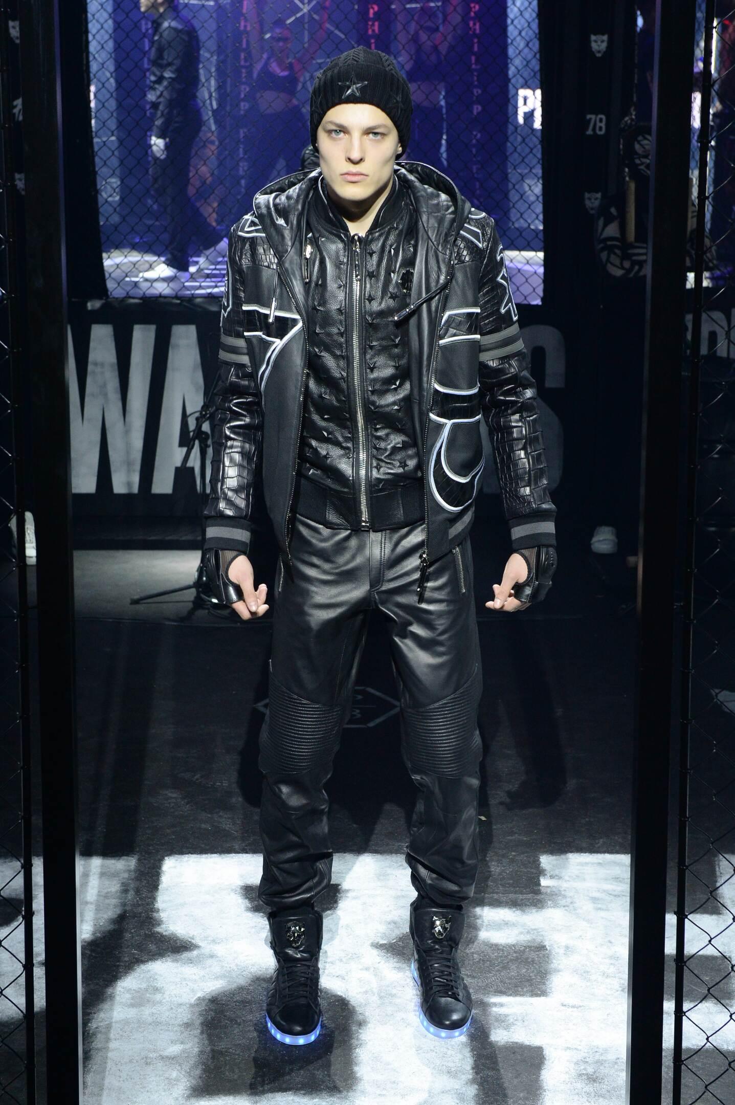 Fall 2015 Men Fashion Show Philipp Plein