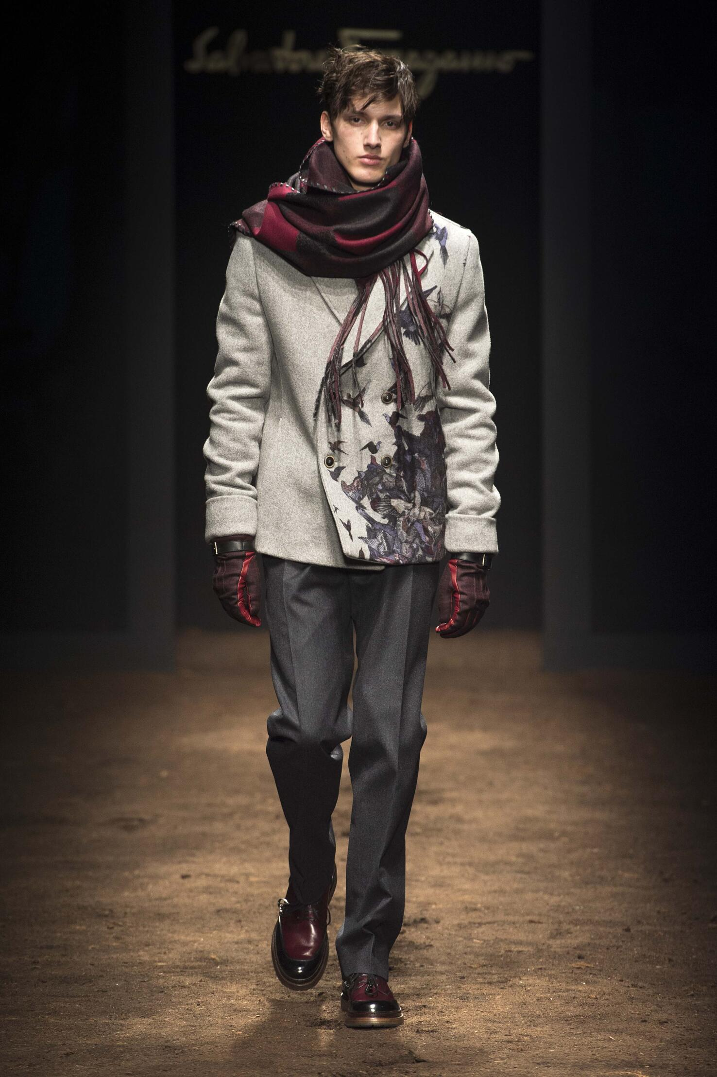 Fall 2015 Men Fashion Show Salvatore Ferragamo