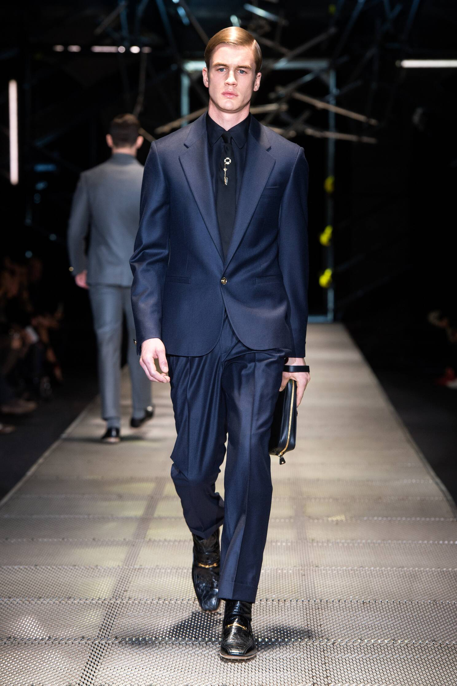 Versace Men Fashion Show 2015 Fall Men Fashion Show
