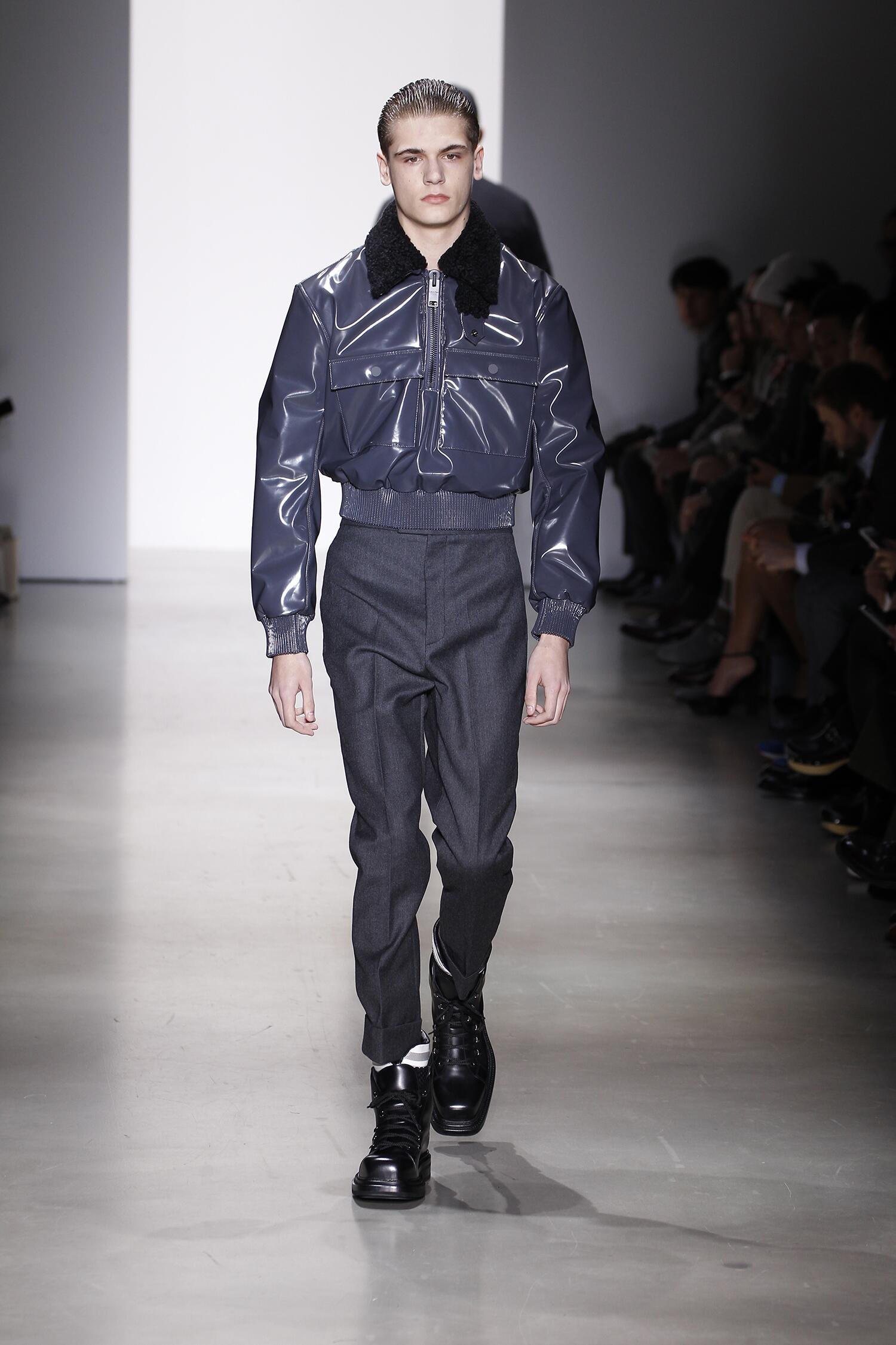 Fall Calvin Klein Collection Fashion Man