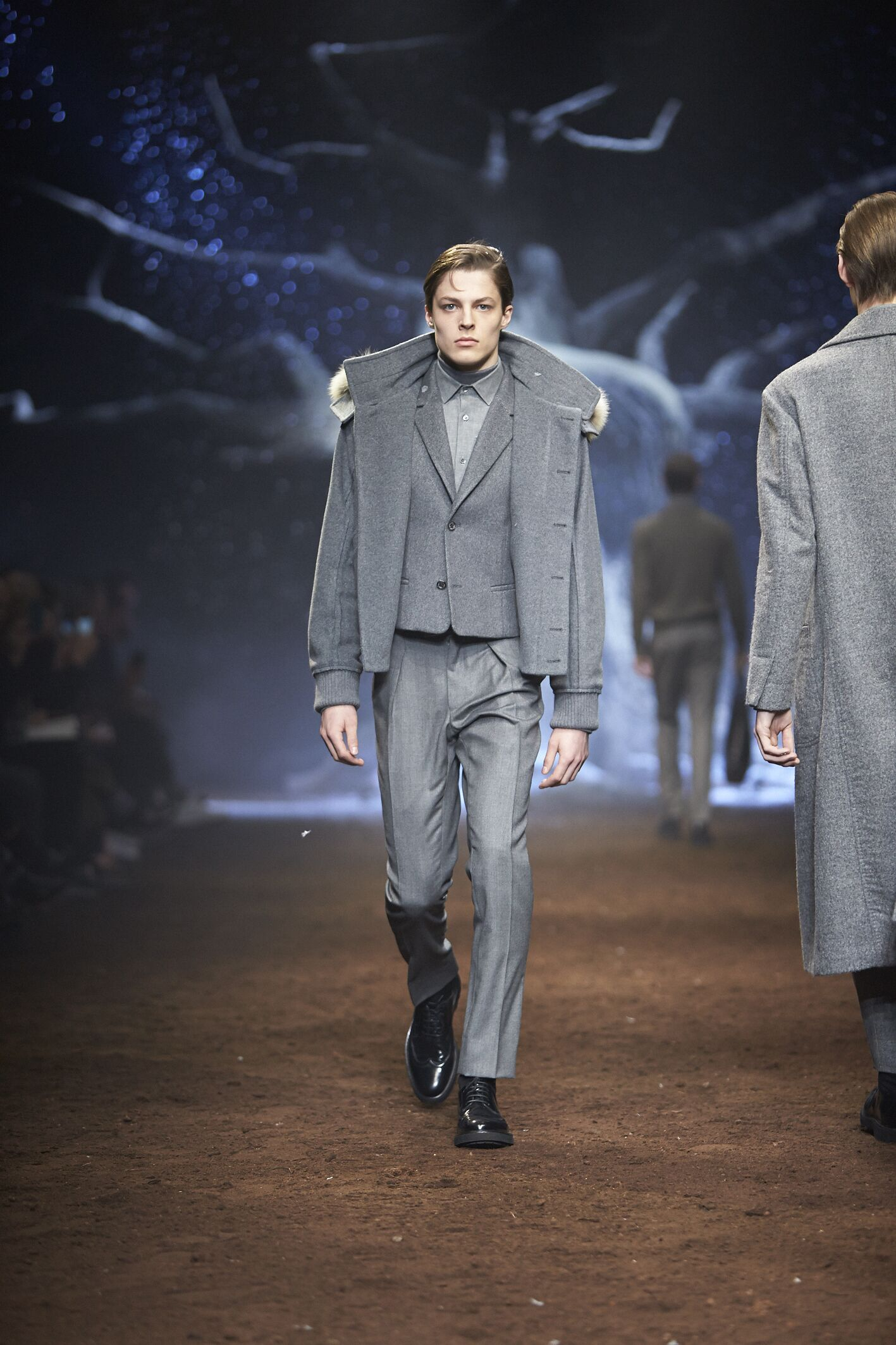 Fall Corneliani Fashion Man