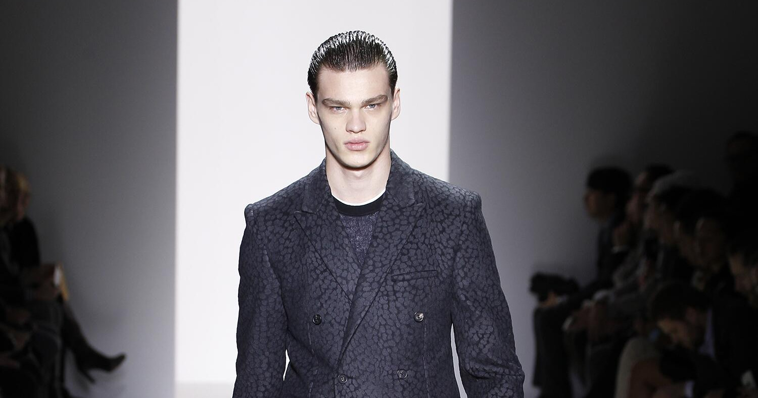 Fall Fashion Man Calvin Klein Collection 2015