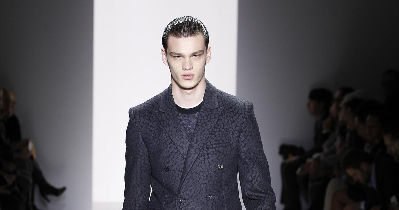 Fall Fashion Man Calvin Klein Collection 2015