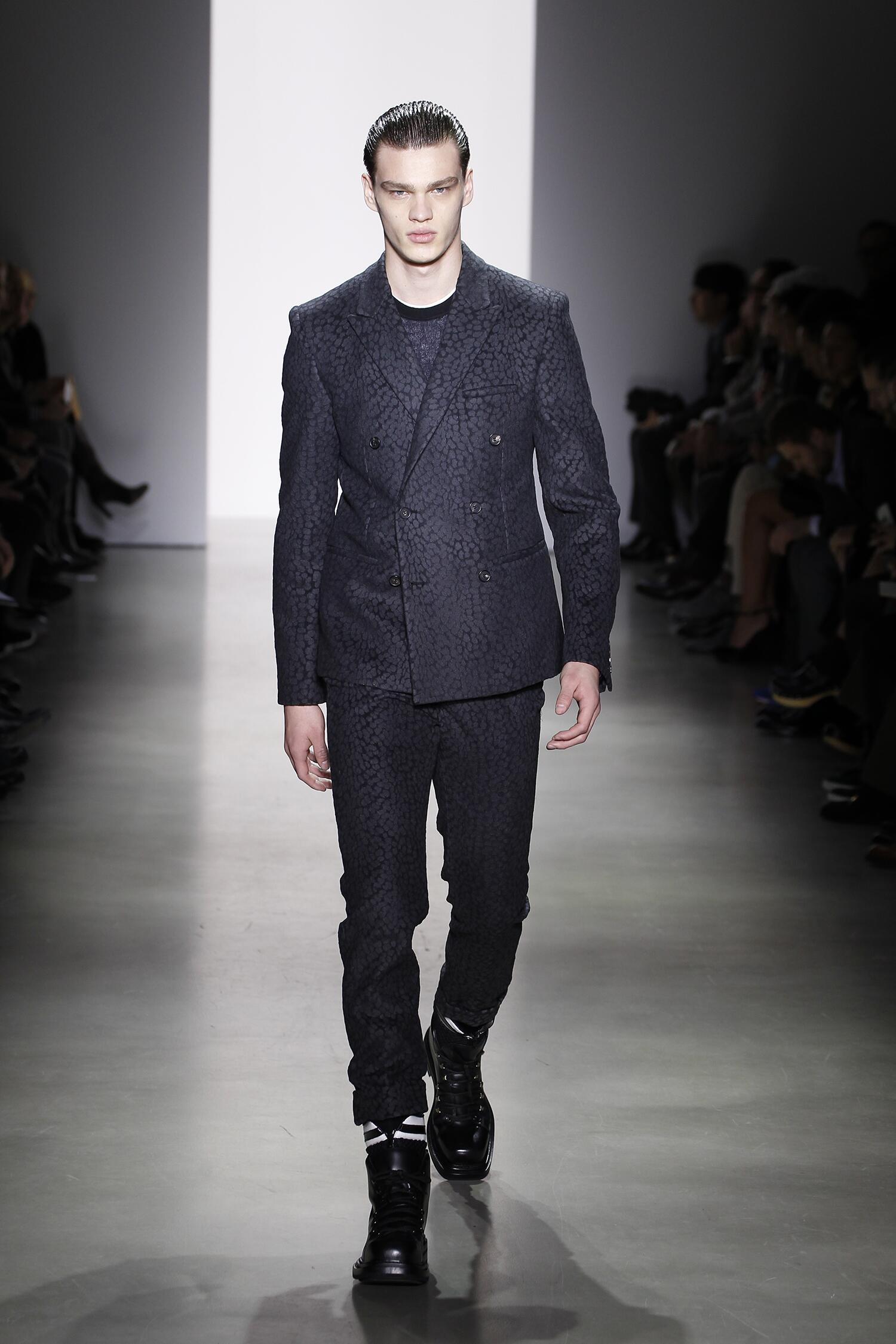 Fall Fashion Man Calvin Klein Collection