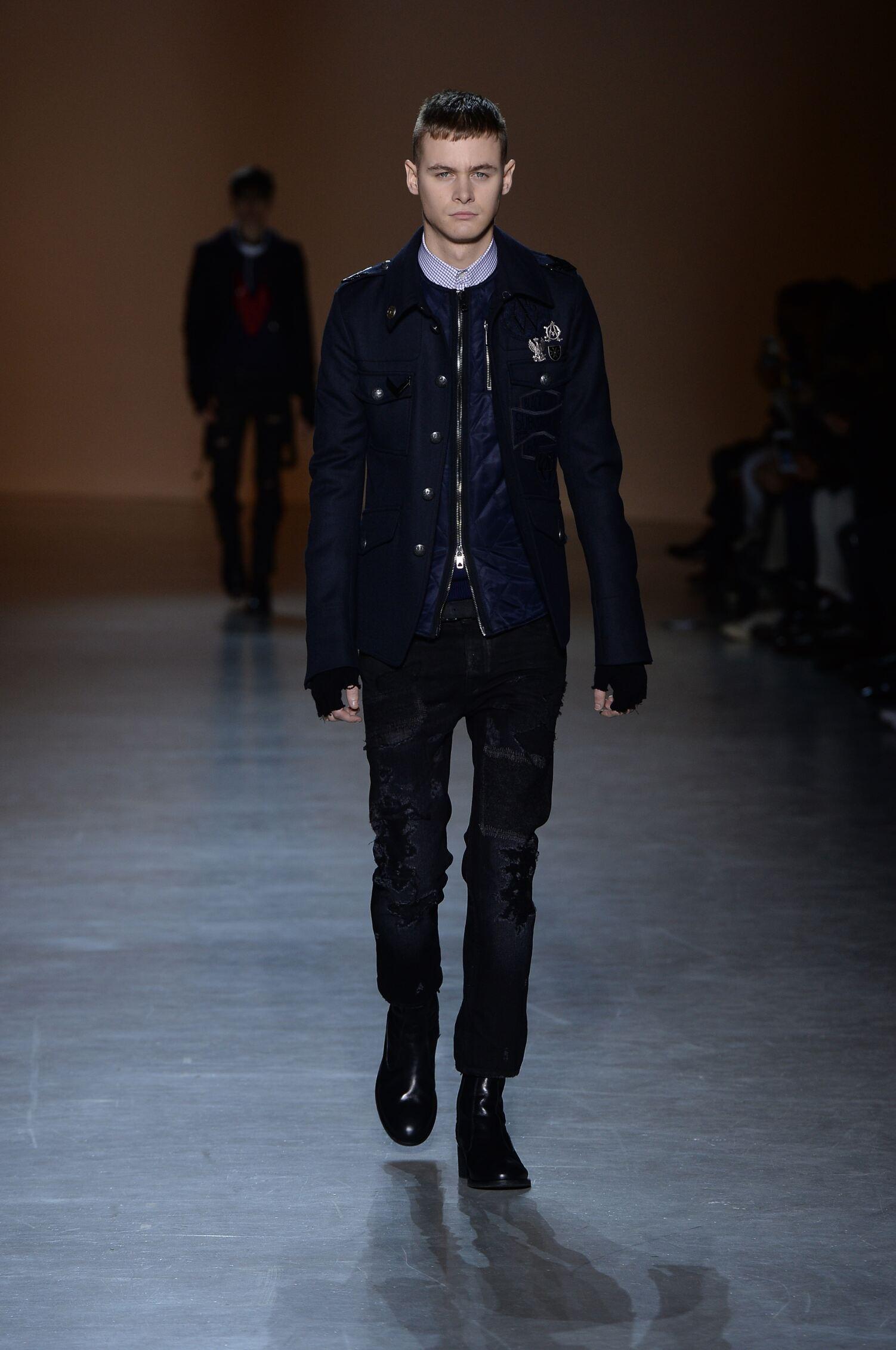 Fall Fashion Man Diesel Black Gold