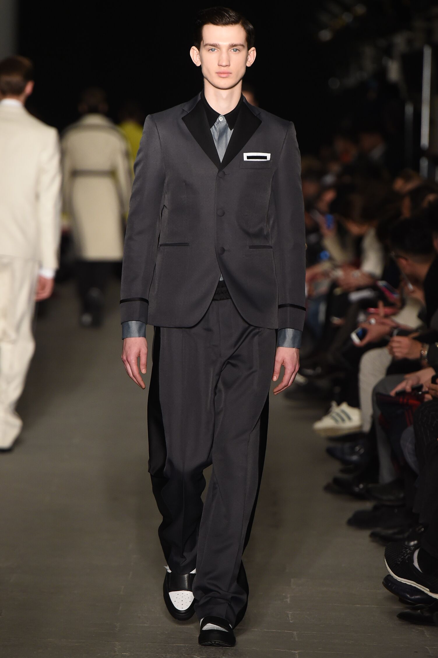 Fall Fashion Man Italian Suit Andrea Pompilio